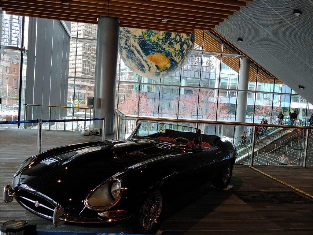 1966 Jaguar E-Type Convertible Black