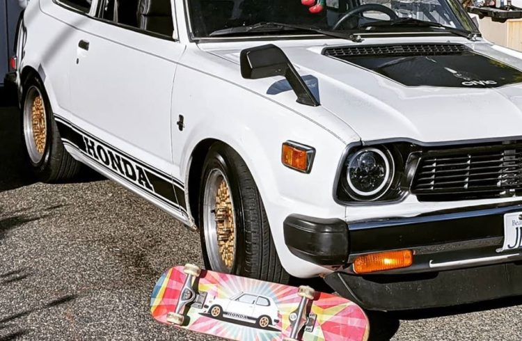 1978-Honda Civic CVCC White
